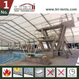 De geprefabriceerde Tent van de Veelhoek van het Stadion van de Structuur voor de Tent van de Sporten van de Ceremonies van het Voetbal