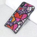 Coração Custom-Designed e geométricos inspirados em forma de peixe TPU Caso Telefone para iPhone Xs Xr Xs Max e Modelos Anteriores
