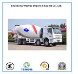 De 2 eixos do misturador concreto do caminhão do transporte reboque Semi
