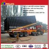 3 Semi Aanhangwagen van de Kipper van de Container van de as 40FT de Tippende voor Verkoop