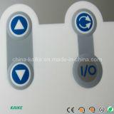 Interruptor de membrana com borda em relevo chave (KK)