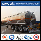 52cbm Cimc Huajun Aluminium Alloy Fuel/Gasoline/Petrol/Oil Tanker
