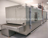 L'usine fournissent directement le surgélateur de tunnel pour la crevette de boulette de nourriture