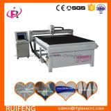 Ultra-fino de vidro temperado da máquina de corte de mármore com superfície tabela (RF1312S)