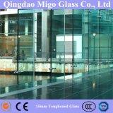 15mm sur plat pour la construction de verre flotté clair / table en verre haut de page