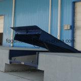 rampa de carregamento hidráulica elétrica do recipiente 8t