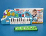Giocattolo dello strumento musicale, giocattolo musicale di plastica (013729)
