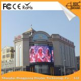 Alto brillo que hace publicidad de la visualización al aire libre de la pared de la pantalla P6 LED