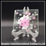 Coaster 4mm de cristal decorativo Floawer