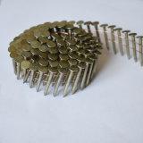 Big Cap (STCN01)를 가진 프레임 Steel Wire Coil Felt Nail