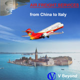 Transporte aéreo a Venecia (Italia) de China