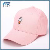 Дешевое изготовленный на заказ цвета пинка бейсбольной кепки выдвиженческое