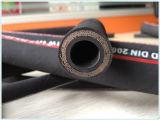 Tube R12/4sp/4sh en caoutchouc de SAE 100/boyau hydrauliques à haute pression