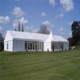 Exterior em alumínio PVC branco grande festa de casamento, Marquee
