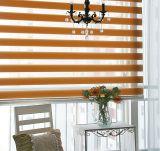Las persianas impresas de la cebra imprimieron las persianas de Combi de las telas de la cortina de /Duo de las persianas/del arco iris del dúo/las cortinas de ventana del dúo