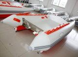 High Speed Catamaran (3.8m, aluminium vloer)