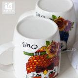le lait en céramique de prix usine de 380ml Chine met en forme de tasse des cuvettes de thé