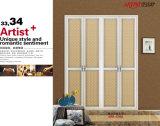 Новый стиль ПВХ мембраны шкаф сдвижной двери (yg-006)