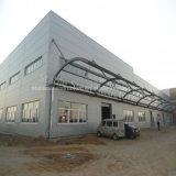 Taller de acero de la construcción del marco porta con alta calidad