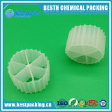 Bio Meios de filtragem de embalagem para meios de águas residuais, Pond Mbbr Media para Mbbr Moving Bed