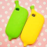 Случай телефона силикона формы банана поставщика фабрики специальный (BZPC011)