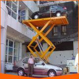 [س] [سرتفيكأيشن] هيدروليّة يقصّ كهربائيّة مصعد لأنّ سيّارة