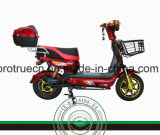Moto traseiro sem escova de 500W Motocicleta elétrica