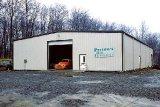 プレハブの軽い鉄骨構造車のガレージ