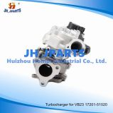 Turbocompressor para Toyota 1VD-Ftv Vb23 Rhv4 17208-51010 17201-51020 Twin Turbo