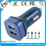 Car Electronics Chargeur portable portable double voiture pour chargeur voiture USB 2 ports