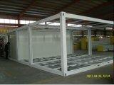 Дома контейнера модели дома низкой стоимости самые лучшие селитебные Prefab стальные
