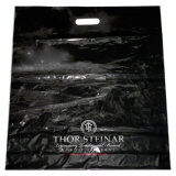 Las bolsas de plástico impresas aduana del portador del orificio de la bolsa para la ropa (FLD-8562)