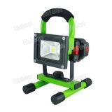 220V 10W 옥외 Rechageable LED 플러드 빛