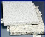 Алюминий PE/PVDF Coated обшивает панелями твердые алюминиевые панели плакирования для фасада внешней стены