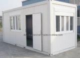 Prefab дом контейнера для временно 2 этажей офиса офиса/
