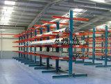 CE aprovado armazém de armazenamento Heavy Duty Cantilever Racking ajustável