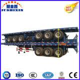 Remorque de conteneur de lit plat des essieux 40FT de l'usine 3 de la Chine à vendre