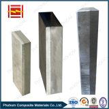 爆発性のクラッディングのアルミニウム鋼鉄陽極ブロック