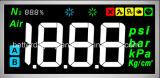 Affichage à cristaux liquides 7 segments avec icône Module LCD Tn Positif