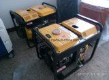 Hy-A0007 Gerador de diesel aberto de auto-excitação de chave inicial de 5kw