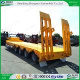 Gooseneck van Shengrun Aanhangwagen van de Vrachtwagen van Lowbed van het Bed van Lowboy de Lage