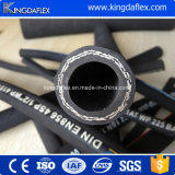 Boyau en caoutchouc hydraulique à haute pression tressé de fil d'acier de Sar100 R1at/R2at