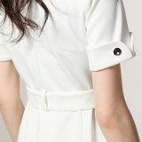 La robe neuve de bureau de dames de femmes d'Ol de mode vêtx la robe formelle blanche mince