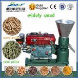 uma energia pequena da produção parte o moinho da máquina da pelota da haste da palha do milho do tronco