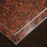 Samengestelde Comité ACS van het Aluminium van de marmeren/Materialen van de Steen het PE/PVDF Met een laag bedekte/Acm