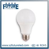 Buona lampadina di prezzi 5W E27 A60 LED di SKD con 12V
