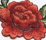 Laço do bordado da correção de programa da flor da forma da alta qualidade