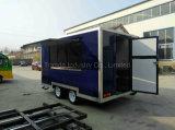 Nahrungsmittelwohnwagen, mobiler Küche-LKW, Lebesmittelanschaffung, bewegliches System, bewegliche Werkstatt, Büro, Qualitätsschlußteil