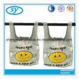 Haute qualité T-shirt Extra Large de sacs en plastique pour le shopping