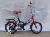 Kind-Fahrrad mit Halter